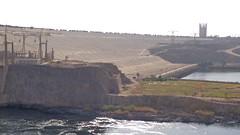 Aswan High Dam (Rckr88) Tags: aswan high dam aswanhighdam egypt africa travel travelling dams lake lakes lakenasser nasser water river rivers riverbank nile nileriver nileriverupperegypt thenileriver upperegypt upper nubia damwall wall walls