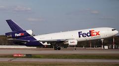 N358FE (MD-11) at KMEM (novarese) Tags: n358fe md11 md11f trijet kurt flydcjets fedex fdx fx mem kmem flymemphis beacon