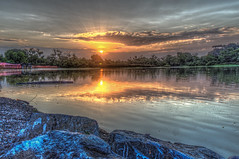 Golden State Sunrise (Michael F. Nyiri) Tags: kenmalloyharborregionalpark lakemarchado california southerncalifornia harborcityca