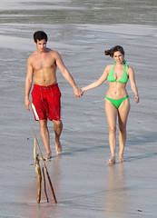 75899_Kelly_Brook_Bikini_Carribean_03_122_430lo (antoniusbudyono10) Tags: greenbikini redswimtrunks boardshorts ocean beach water lovedup caribbean
