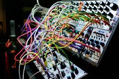eurorack obsession (mike thomas) Tags: eurorack modular synthesizer bokeh youtube intellijel case 8u 84hp electronic music patch