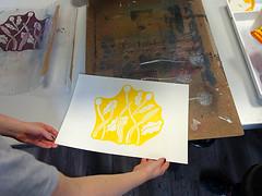 Siebdruckkurs in Berlin ('smil) Tags: siebdruckkurs screenprint drucken printmaking workshop diy