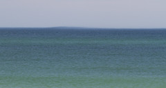 Anomaly (brucetopher) Tags: ocean sea blue water saltwater atlantic green aqua marine mariner bulge bump anomaly fog horizon greylady fogbank mindtrick wave tsunami weird strange spooky scary davyjones flyingdutchman ghost phenomenon