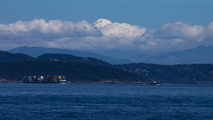 Tug & Barge (jcurtis4082) Tags: 40150mm baker barge clouds containers em1 olympus sanjuan shipping tug wa