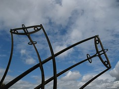 Reach for the sky (davrayphotography) Tags: davray davrayphotography davrayphotographic castlevale spitfire monument roundabout sland blue sky clouds