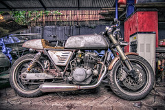 IMG_6660 (Andrey Acorbusie) Tags: acorbusie acorbusiedigtography motorcycle transportation kawasaki modification japstyle rollthevintage