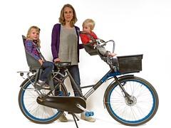 WorkCycles Fr8-iki-zitjes (@WorkCycles) Tags: bike cargobike children dutch fr8 mamafiets moederfiets seats ski transportfiets workcycles zitjes