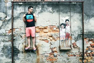 Step by Step Lane Art @ Penang