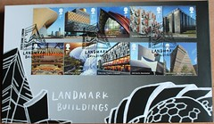 Landmark Buildins FDC (Darren...) Tags: stamps first day cover fdcovers landmark buildings