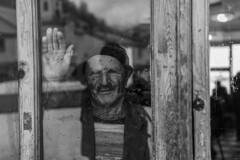 veda (yasar metin) Tags: smile portrait portre huzur hayat siyah beyaz blackandwhite black white people monochrome depth field surreal