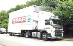 Spar VB63 AFB near Norwich (joshhowells27) Tags: lorry refrigerated spar volvo fm