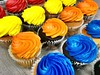 Everything is FOOD! - Rainbow Cupcakes! (Polterguy30) Tags: stilllife colors color cupcakes cupcake desserts dessert foods food