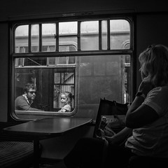 passing by (stocks photography.) Tags: michaelmarsh photographer passingby bw photography
