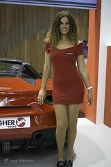De rojo Ferrari-Ferroforma 2017 Bilbao (mercenario.one) Tags: rojo ferrari bilbao ferroforma azafata mujer