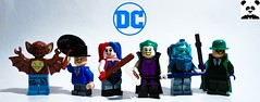 Batman Rogues (Random_Panda) Tags: lego figs fig figures figure minifigs minifig minifigures minifigure purist purists character characters comics superhero superheroes hero heroes super comic book books films film movie movies tv show shows television dc villains manbat batman rogues gallery penguin harley quinn the joker mister mr freeze riddler edward nygma harleen quinzel oswald copperpot victor fries langstrom kirk