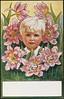 Barnemotiv av Jenny Nystrøm / Child by Jenny Nystrøm (National Library of Norway) Tags: nasjonalbiblioteket nationallibraryofnorway postkort postcards kunstnerkort jennynystrøm barn children
