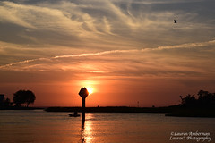 Quiet paddle in the Narrows (lauren3838 photography) Tags: laurensphotography lauren3838photography kayak tilghmanisland tilghman maryland md talbotcounty paddle boat sunset easternshore chesapeakebay knappsnarrows waterscape water landscape clouds nikon sky nature rural birds d750 fx tamron2875mm