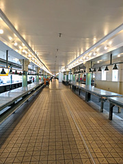 Pike Place Market before the crowds arrive (Ruth and Dave) Tags: pikeplacemarket pikeplace market seattle empty early morning stalls corridor hall quiet