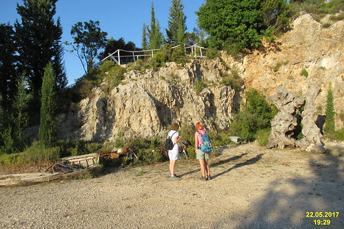 Elies T.P. - in the quarry