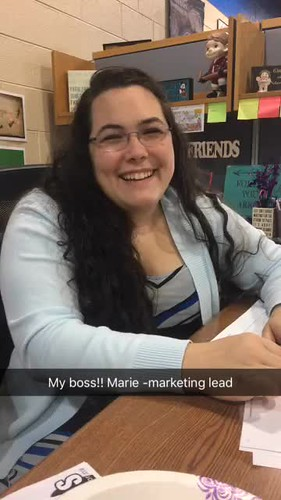 Video - Marie, marketing lead
