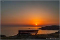 Meiras, Valdoviño (Neli Martin) Tags: banco meirás valdoviño coruña galicia sol puesta mar acantilado nelimartin