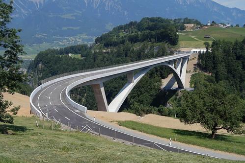 Pfäfers - Tamina Bridge Finished