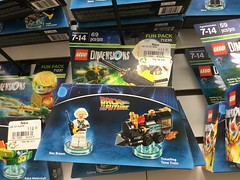 LEGO Dimensions Doc Brown Fun Pack (splinky9000) Tags: kingston ontario cataraqui centre eb games lego dimensions back to the future doc brown fun pack travelling time train toys life video game