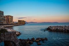 Lungomare Caracciolo Napoli (LuigiDiMaio) Tags: napoli naples italy lungomare sea caracciolo castel dellovo mergellina golfo panorama landscape