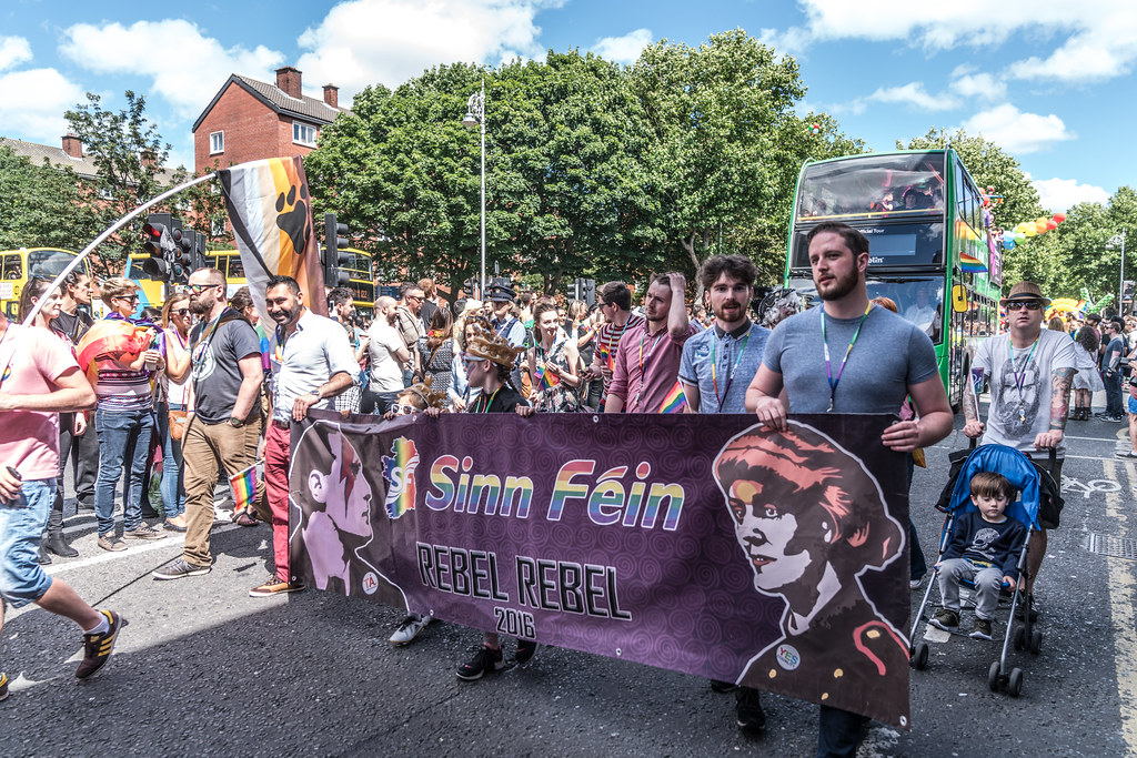 LGBTQ+ PRIDE PARADE 2017 [ON THE WAY FROM STEPHENS GREEN TO SMITHFIELD]-130127