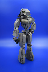 Chloe (E-Why) Tags: lego moc robot fembot gynoid mech