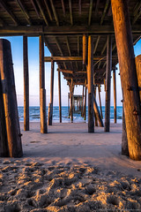 20170520 NC Frisco Pier-0099 (Dan_Girard_Photography) Tags: 2015 dangirardphotography outerbanks northcarolina frisco pier sunrise beach colors water sand