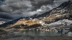 Gletscherseeli I (Dani Maier) Tags: spiringen uri schweiz ch klausenpass berge alpen see bergsee wolken gletscher