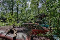 SP-5 (StussyExplores) Tags: austria scrapyard vintage cars teeth rust decay abandoned left behind vehicles explore exploration urebx