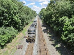 Norfolk Southern Chicago Line / MP 460 West (codeeightythree) Tags: ns norfolksouthernchicagoline nschicagoline norfolksouthernrailroad norfolksouthern rollingprairieindiana rollingprairie freight freighttrain fastfreight transportation mp460