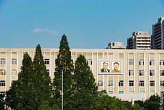 Display of Patriotism (karstenmjung) Tags: länder reisen jahre persönliches asien pyongyang nordkorea 2014 kp dprk kimilsung kimjongil portrait northkorea