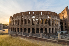 Rome: Colosseum at Sunset