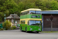 374 TCD374J (PD3.) Tags: 374 tcd374j tcd 374j daimler fleetline northern counties amberley west sussex chalk pits museum bus buses preserved vintage coach heritage centre show historic history southdown motor services