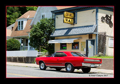 RED GTX (Peter Camyre) Tags: red gtx plymouth car hot rod gin mill bondsville massachusetts peter camyre photography camera ride canon 5d mkiii parked black border main street awesome beauty muscle cars automotive automobile ef70200mmf28lisiiusm canoneos5dmarkiii