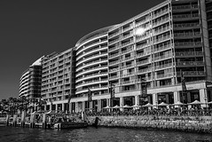 DSC00749 (Damir Govorcin Photography) Tags: architecture water sydney harbour building circular quay natural light blackwhite monochrome wide angle zeiss 1635mm sony a7rii
