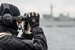 SNMCMG1 VESSELS CONDUCT FORCE PROTECTION DRILLS WITH SWEDISH NAVY (NATO HQ MARCOM) Tags: forceprotection alliedmaritimecommand sweden marcom exercise passex snmcmg1 standingnatominecountermeasuresgroupone nato