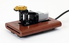 Telegraph Key (JK Brickworks) Tags: lego telegraph morsecode printer mindstorms ev3 robot machine