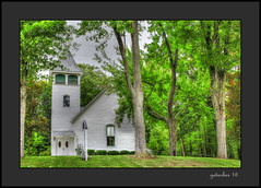Church in Marion Springs MI  Enhancer (the Gallopping Geezer '4.8' million + views....) Tags: building structure od ld smalltown village rural backroad backroads country countryside marionsprings mi michigan canon 5d3 geezer 2016 church worship faith religious religion processing tonemap tonemapped photomatrix