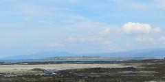 Island of Pabay from Waterloo, Broadford, Isle of Skye, May 2017 (allanmaciver) Tags: pabay island waterloo broadford skye west coast small stamps applecross mainland sandy bay seaweed clouds hazy weather warm may allanmaciver