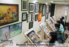 portrait classes in delhi (kalabhumi) Tags: fine art institute delhi drawing painting classes sketching craft hobby courses bfa entrance coaching nift nata preparation for kids handwriting calligraphy oil acrylic bfaindelhi fineartdiplomacourses