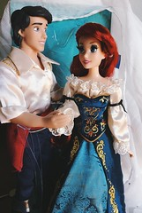 Ariel & Eric (Sam Miao 88) Tags: limitededition dolls disney fairytale eric ariel