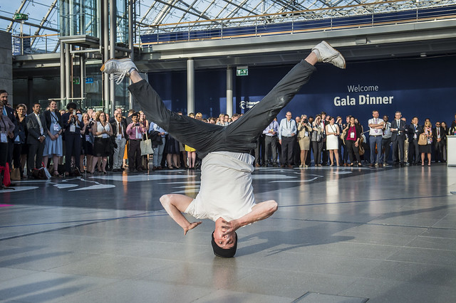 Breakdancers from Saxony