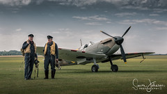 """"""" No Place For Old Men """" (simonjohnsonphotography.uk) Tags: nikonaviation raf aircraft nikon aviation battleofbritain spitfire simonjohnsonphotography airshow ww2 flyinglegends duxford"""