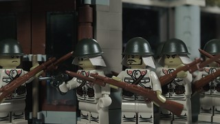 Lego Japanese Soldiers, Shanghai 1937