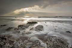 Normandy [FR] (ta92310) Tags: 2017 normandie europe france travel normandy wide falaises cliff spring printemps quiberville 76 seinemaritime sunset cloudy nuage longexposure nd8 canon 6d