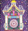 astralclock (regina11163) Tags: artreproduction stars clock astraltravel sureal purple tower coloringbooks